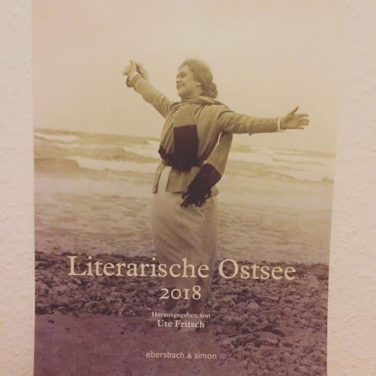 Titelbild des Kalenders Literarische Ostsee 2018